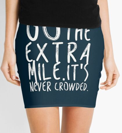 Go the extra mile Mini Skirt