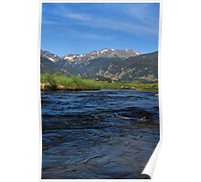 Cool Mountain Waters Poster