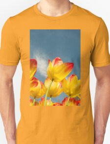 Yellow and Pink Tulips T-Shirt