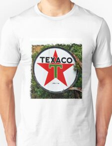 Round Texaco Sign T-Shirt