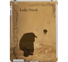 The Labyrinth inspired design (Ludo). iPad Case/Skin