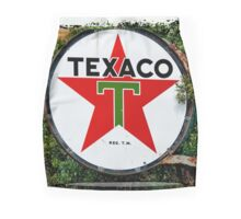 Round Texaco Sign Mini Skirt