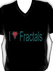 I Heart Fractals T-Shirt
