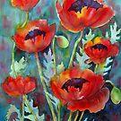 Ladies in Scarlet by bevmorgan