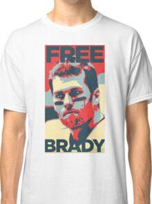 Free Brady Deflate Gate Tom Patriots Classic T-Shirt