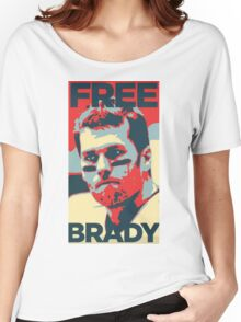 Free Brady Deflate Gate Tom Patriots Women's Relaxed Fit T-Shirt