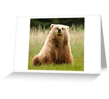 Buttercup Pondering Greeting Card