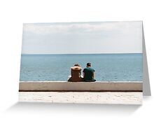Couple (analogue) Greeting Card