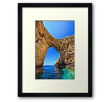 Gate to the Ionian Sea Framed Print