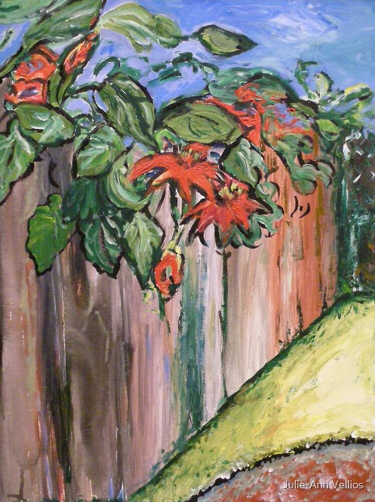 Passion Vine by Julie-Ann Vellios