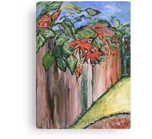 Passion Vine Canvas Print