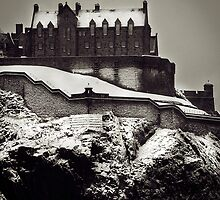 Edinburgh Castle February 2009 by Chris Clark