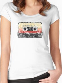 Awesome, Mix Tape Vol.1 Women's Fitted Scoop T-Shirt