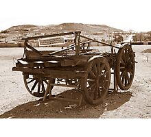 Horse drawn wagon Photographic Print