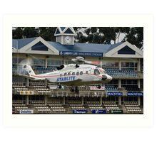 Sikorsky S-92 @ The Wanderers Cricket Stadium Art Print
