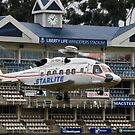 Sikorsky S-92 @ The Wanderers Cricket Stadium by RatManDude