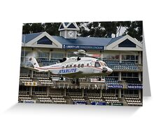 Sikorsky S-92 @ The Wanderers Cricket Stadium Greeting Card