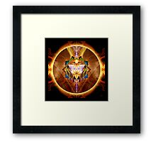 Chakras: 3 Solar Plexus Framed Print