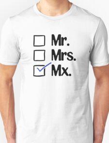 Mx. Gender Neutral Honorific T-Shirt