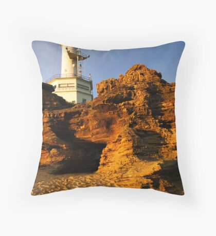 Point Lonsdale Lighthouse Throw Pillow