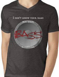 Your BASS is familiar Mens V-Neck T-Shirt
