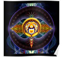 6th Chakra: Third Eye Poster