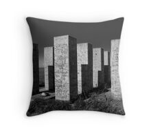 Megaliths Throw Pillow