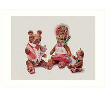 The Bear Family Art Print