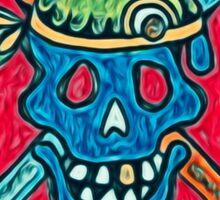 Skull, Pirate, Swords, Crossbones, Captain,  Sticker