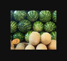 Dubai United Arab Emirates Melons at the vegetable market. Womens Fitted T-Shirt