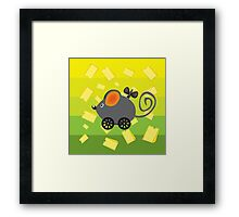 Cheese lover Framed Print