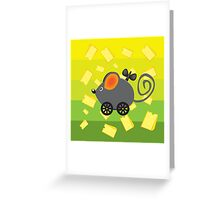 Cheese lover Greeting Card