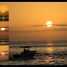Sunrise Collage by Donna Adamski