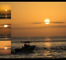 Sunrise Collage by Donna Adamski