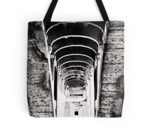 the darkness retreats Tote Bag