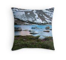 Moonlight Lake Throw Pillow
