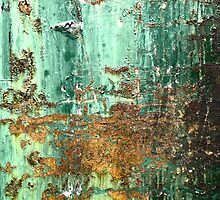 Rust on Green by joan warburton