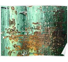 Rust on Green Poster