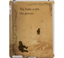The Labyrinth inspired design (Toby). iPad Case/Skin