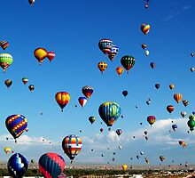 The Sky Is my Circus ! What a way to FLY ! by Paul Albert