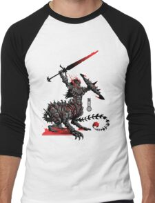 The Game of Kings, Wave Two: The Black King's Knight Men's Baseball ¾ T-Shirt