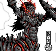 The Game of Kings, Wave Two: The Black King's Knight Sticker