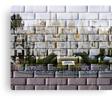 It's a Small World..Disneyland USA Canvas Print