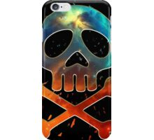Space Pirate, Skull, Crossbones, Captain, Bone, Anime, Comic iPhone Case/Skin
