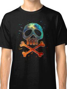 Space Pirate, Skull, Crossbones, Captain, Bone, Anime, Comic Classic T-Shirt