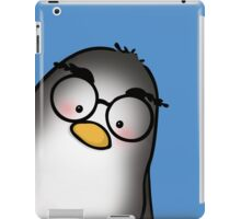 Eyebrow Penguin iPad Case/Skin