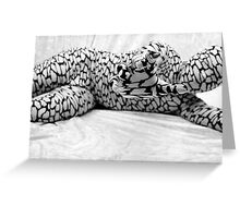 Abstract Reaching Greeting Card