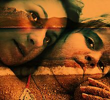 Daughter and mother. by Aleksandar Topalovic