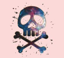 Space Pirate, Skull, Crossbones, Captain, Bone, Anime, Comic Kids Clothes