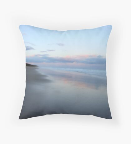 Anglesea - Sun on ocean Throw Pillow